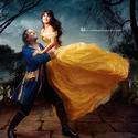 "Oscar-winners Penélope Cruz and Jeff Bridges appear as Belle and the transformed prince from ""Beauty and the Beast."""
