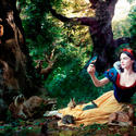 Actress Rachel Weisz as Snow White.