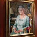 Queen Elizabeth's portrait