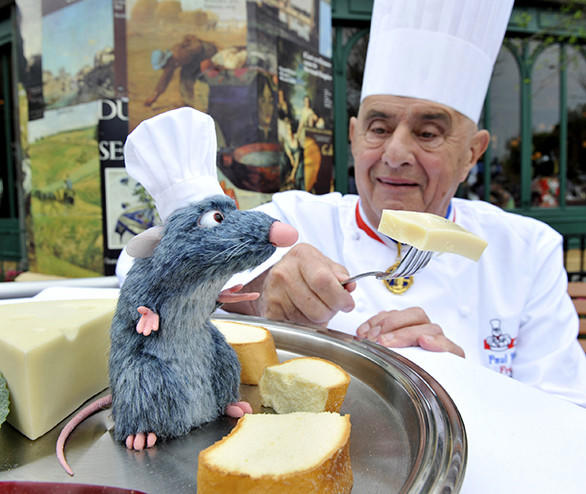 "Remy, the rodent hero of ""Ratatouille,"" has already been making appearances at Walt Disney Studios' Rendez-vous des Stars restaurant in the form of a tiny tableside animatronic figure that is part of Walt Disney Imagineering's Living Character initiative."