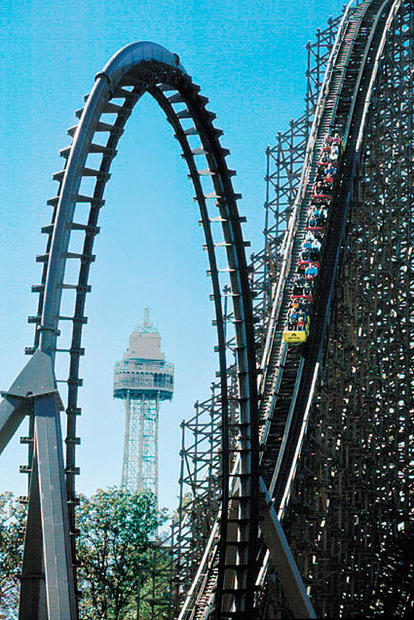 Ohio's Kings Island built the Son of Beast wooden terrain coaster in 2000 only to remove the vertical loop a few years later.