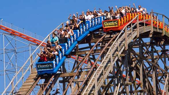 I'll try to tackle all 17 coasters at Cedar Point in Sandusky, Ohio, including Gemini.