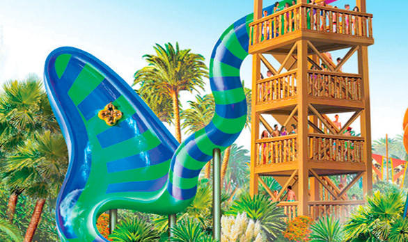 SeaWorld San Antonio added the Walhalla Wave zero-gravity slide, the first of its kind in the U.S., as part of an extensive conversion of an existing water park into Aquatica San Antonio.