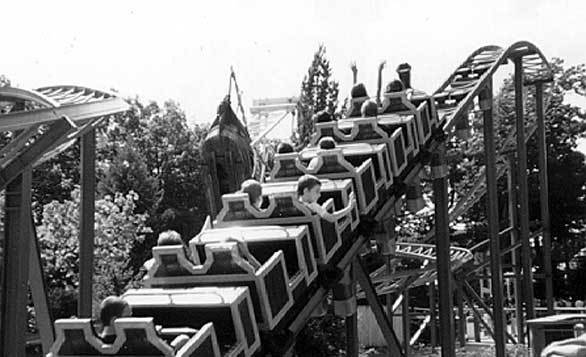 10. Blackbeard's Lost Treasure Train: Opened in 1999, the Six Flags Great Adventure family coaster makes two circuits around a double figure-eight track. Zierer built several of the Tivoli Gardens-inspired coasters at a number of parks in Europe.
