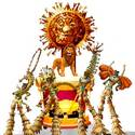 'Lion King' float