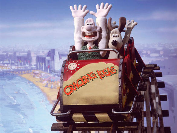 Nick Park, the Oscar-winning animator who created Wallace & Gromit, visited Blackpool Pleasure Beach with his family as a child and still lives about 20 minutes from the park in Northwest England.