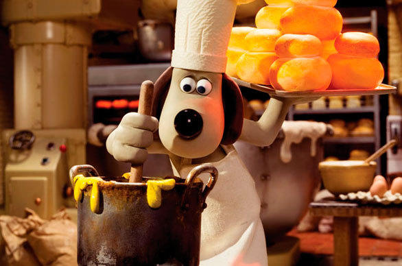 "The Wallace & Gromit Thrill-O-Matic dark ride will feature a dozen scenes inspired by the animated short films starring the beloved British claymation characters, including ""A Matter of Loaf and Death."""