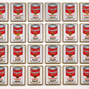 Andy Warhol's first solo show