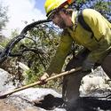 Arizona: Fire burns in Prescott National Forest