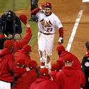 David Freese celebration