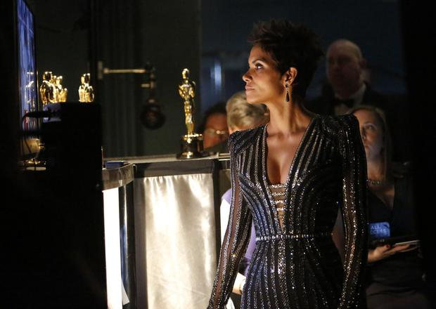Halle Berry introduced the salute to the James Bond film franchise.