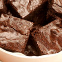Midnight chocolate brownie bites