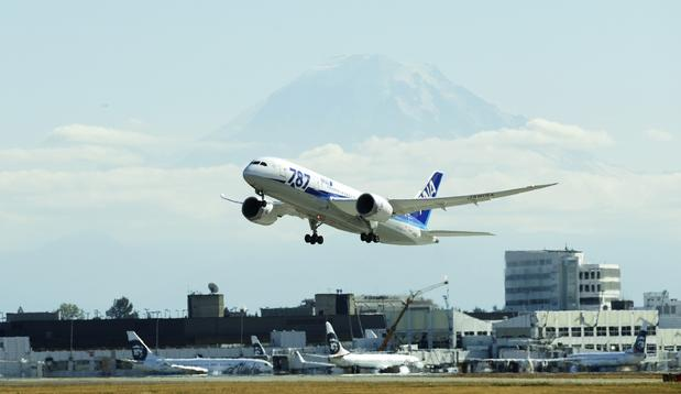 In October 2011, All Nippon Airways became the first airline to fly the Dreamliner. Since then, the Japanese carrier's fleet of 787s has grown to well over a dozen. Its short-haul Dreamliners are arranged to seat 222 passengers, 42 in business and 180 in economy. The long-haul Dreamliner accommodates 158, 46 in business and 112 in economy.