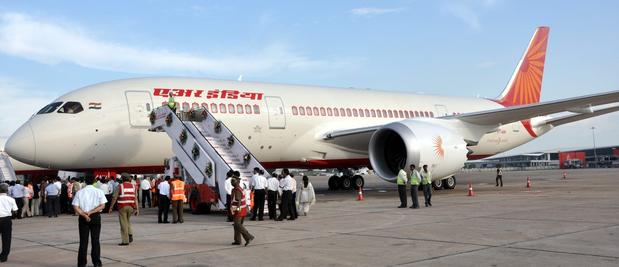 Air India's Dreamliner entered commercial service in September, flying from Delhi to Chennai, India. Its 787 is arranged to seat 256 passengers, 18 in business and 238 in economy. Seats in business class recline to a fully flat position.
