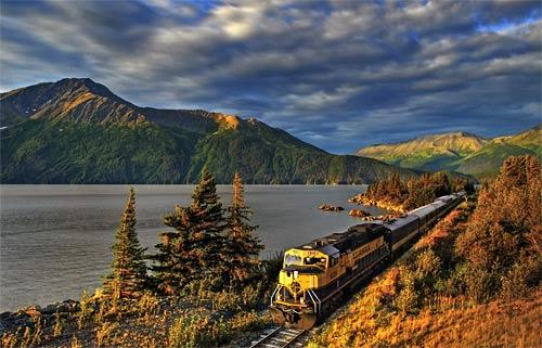The Alaska Railroad  takes riders into the far reaches of the 49th state, connecting Seward, Anchorage, Denali National Park and Fairbanks, with other stops in between.