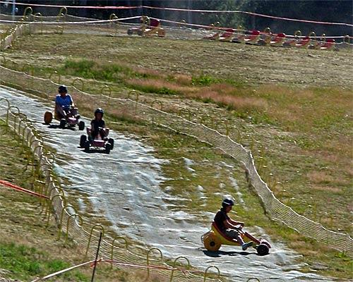 <b>Andorra</b><br> <br> Tired of duty-free shopping? Strap on a helmet, grab a go-kart and fly down that hill. During the summer, go-karters make use of snowless ski slopes in tiny Andorra.