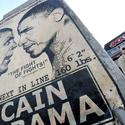 Obama art McCain vs. Obama
