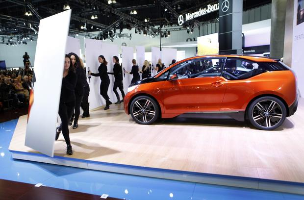 The BMW i3 Coupe