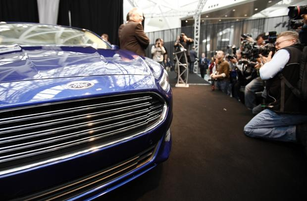 The all-new 2013 Ford Fusion.