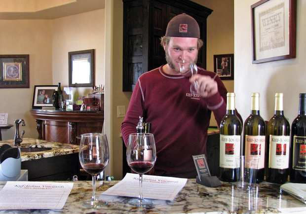 Arizona's 40 wineries are spread throughout the state, but most growers are found on the high southern plateau, where hot days and cold nights make for the perfect wine-growing climate. The grapes are good — and the industry is new, which means the tastings are cheap, usually $5 for five wines (if you bring your own glass, it's only $3). If you're here in August, stop in the Elgin's Four Monkey Winery for its annual grape-stomping competition. arizonavinesandwines.com.