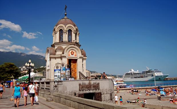 The picturesque promenade in Yalta, site of the historic 1945 conference, made this Ukrainian port stop a standout.