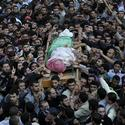 Funeral of Hamas militant leader Ahmed Jabari