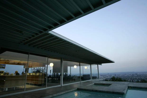 "<b>5. Stahl House Case Study House No. 22 Pierre Koenig Hollywood Hills, 1960</b><br> <br> Whatever the historical and intrinsic values of the other houses on this list, probably none is more famous in the public imagination than Koenig's 20th century glass-and-steel house. The iconic photograph of it taken by Julius Shulman shows the sleek living room seemingly flying off a cliff in the Hollywood Hills, the romantic nighttime grid of the city flickering far below. Where else could such a photograph have been taken? This was more than just a home. It was a vision of Los Angeles as the future. ""It's a pleasure to be in that house,"" said David Travers, formerly editor of Arts & Architecture magazine. ""I don't know what it's like to live there, but the pleasure principle is heavy in my list."""