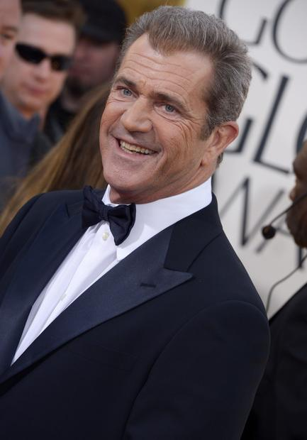 Mel Gibson made an unexpected public appearance at the Golden Globes on Sunday night, sitting at a table in the front row, but looking exceedingly uncomfortable. He couldn't have been too uncomfortable, though. Ricky Gervais wasn't there to rip him.