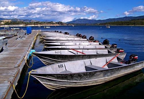 Cachuma lake la times for Cachuma lake fishing