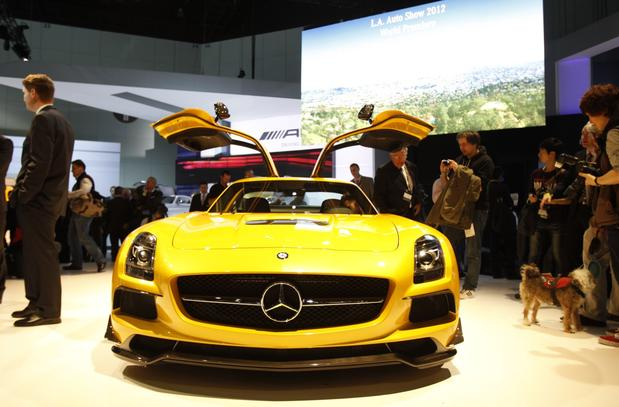 The Mercedes-Benz SLS AMG Black Series