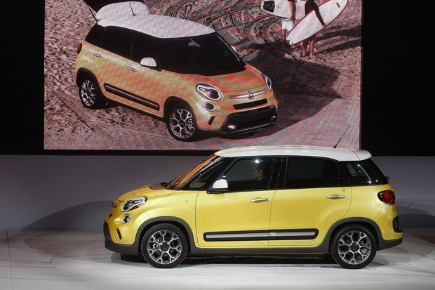 "The five-passenger Fiat 500L.<br><b>More:</b> <a href=""http://www.latimes.com/business/autos/la-fi-hy-autos-laas-fiat-500-press-conference-20121128,0,5096514.story"" target=""_blank"">Fiat's trio of new models: Biggest departure is 500L. Here's why</a>"