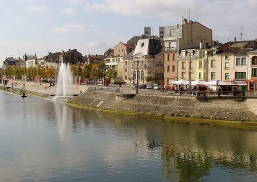 The quaint town of Verdun on the Meuse River in eastern France is famous as a World War I battlefield.
