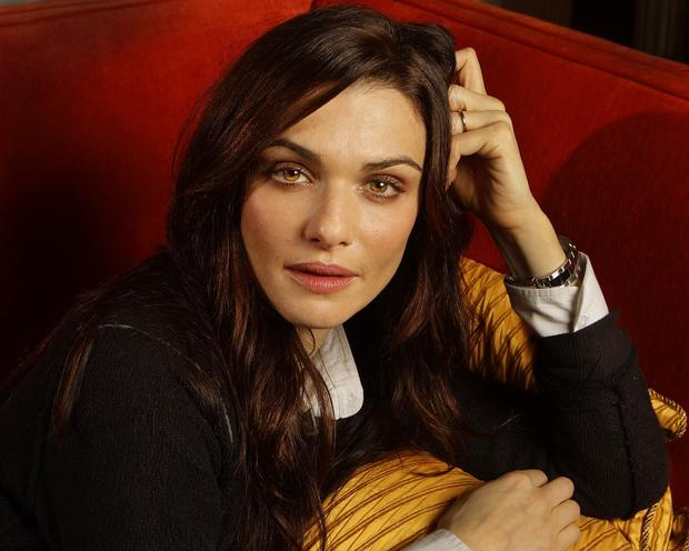 English actress Rachel Weisz at the Beverly Hills Hotel.