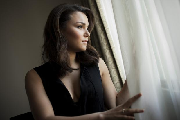 "Samantha Barks makes her film debut in the role of the lovelorn street waif Eponine in ""Les Miserables."""