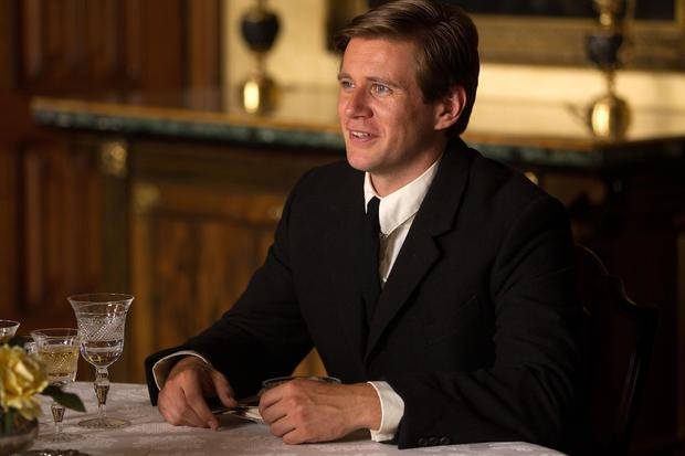 "Allen Leech plays Tom Branson, the Irish chauffeur who won the heart of the youngest Crawley daughter on  ""Downton Abbey."""