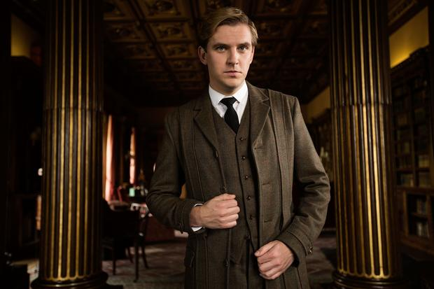 Dan Stevens plays Downton Abbey's heir Matthew Crawley.