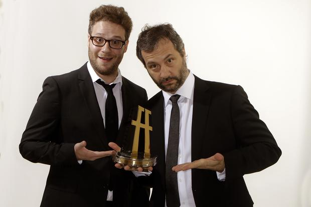 Seth Rogen and Judd Apatow.