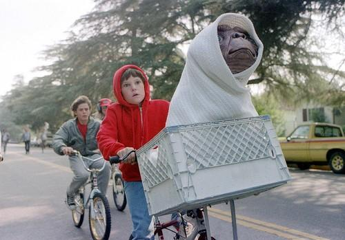 E.T. went from wrinkled-looking hobbit to the equivalent of a walking stuffed animal. It was easy to fall for the Reese's Pieces-loving alien who just wanted to phone home. Then came the discovery of the little guy's sickly body by the river. And even that was not as horrifying as seeing him in the bathtub all white and dying.