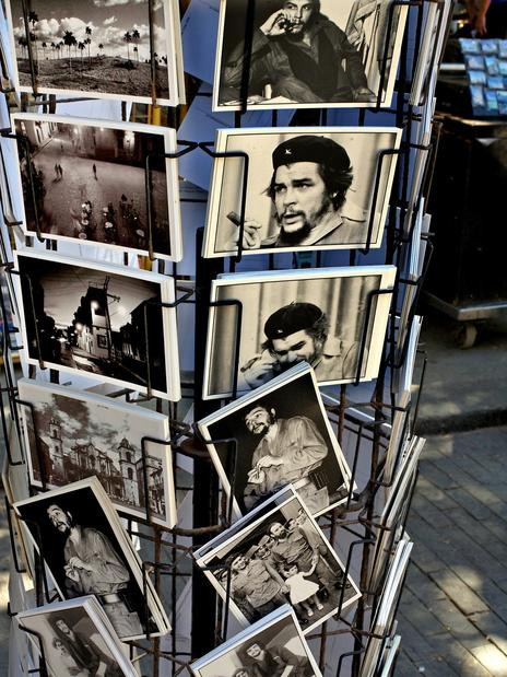 "Ernesto ""Che"" Guevara, an icon of martyred revolutionaries, is everywhere in Cuba."