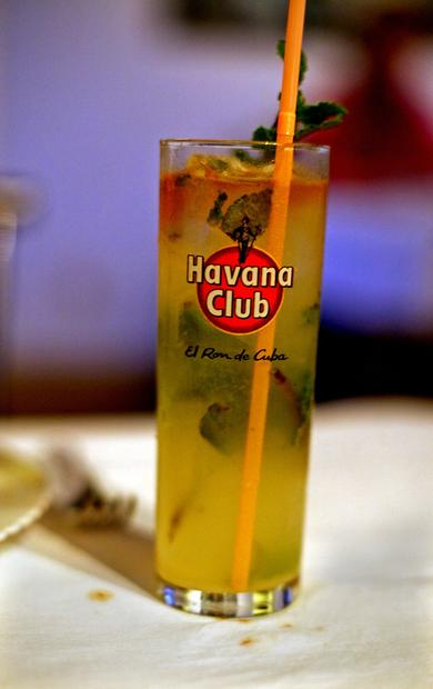 Mojitos are the drink of Cuba --  refreshing, sweet and made with locally produced rum.