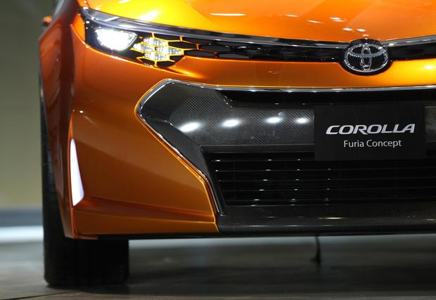 The Toyota Corolla Furia concept car is introduced.