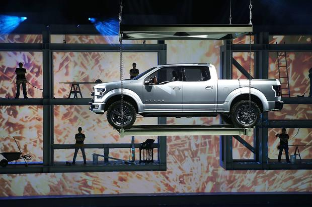 Ford introduces the Atlas Concept truck.