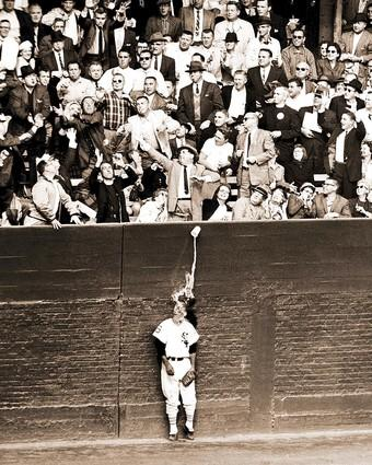 The most enduring image of the Dodgers' first World Series in Los Angeles didn't involve a Dodger and didn't happen in the Coliseum. In Game 2, as fans in the left-field stands of Comiskey Park in Chicago reached to a grab a home run hit by the Dodgers' Charlie Neal, a cup of beer was accidently knocked over on the head of Al Smith of the White Sox.