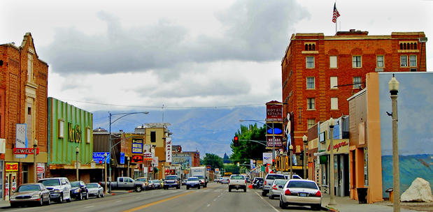 The Hotel Nevada & Gambling Hall, at right, which sits along Ely's main drag, has been attracting visitors since 1929.