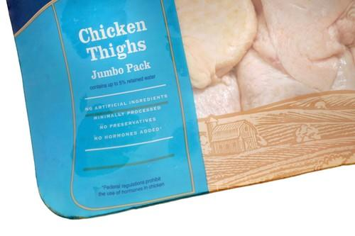 <b>Chicken thighs | $1.29/pound</b><br>