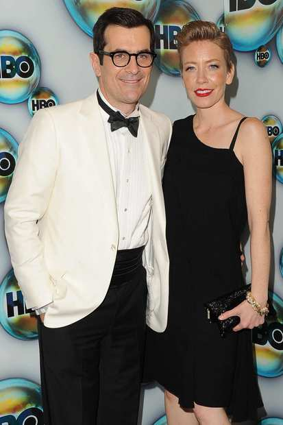 """Modern Family's"" Ty Burrell arrives with wife Holly Burrell"