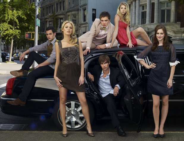 "The entitled NYC private school teens of ""Gossip Girl"" gave TV viewers a chance to get away from all the boring aspects of teen life -- zits, homework and part-time jobs -- and let them focus on all the stuff that's really important -- drugs, rehab, three-ways and lecherous cougars. The cast, which includes Penn Badgley, Ed Westwick, Taylor Momsen, Blake Lively, Chace Crawford and Leighton Meester, is notable for being exceptionally pretty."