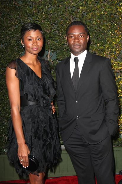Actress Emayatzy Corinealdi and actor David Oyelowo.