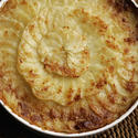 Potato gratin forestiere