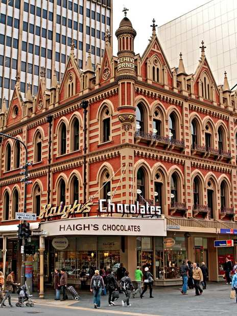 Haigh's Chocolates in Rundle Mall in central Adelaide is an institution in town.